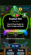 Doubled Mint PvZH 1.4.14
