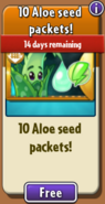 Free Aloe Seed Packets