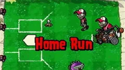 Plants vs Zombies Home Run Derby Gameplay