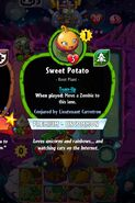 Sweet Potato conjured by Carrotron