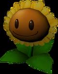 3D Sunflower Model (PvZ Magic Book)