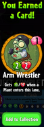 Earning Arm Wrestler