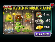 Epic Quest - Leveled Up Pirate Seas Plants