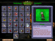 Suburban almanac Zombies WoW modded