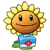 Sunflower costume 2