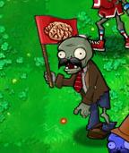 Moustache Flag Zombie