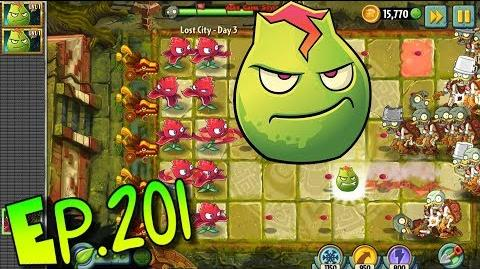 Plants vs. Zombies 2 Lava Guava and Red Stinger - Lost City Day 3 (Ep