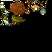 Primitive Snail Zombie PvZAS Sprites