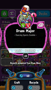 Drum Major stats