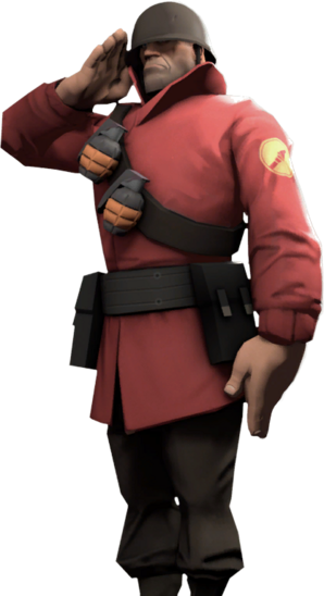 Main menu soldier