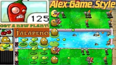 Plants vs. Zombies Adventure Got a Jalapeno level 3-5 Pool (Android Gameplay HD) Ep