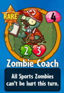 Receiving Zombie Coach