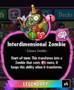 Beta Stats Interdimensional Zombie
