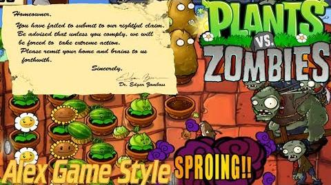 Plants vs. Zombies Adventure Found a Note level 5-9 Roof (Android Gameplay HD) Ep