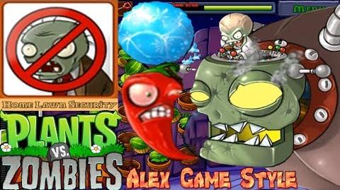 Plants vs. Zombies Final BOSS Adventure ZomBoss Final level 5-10 Roof (Android HD) Ep