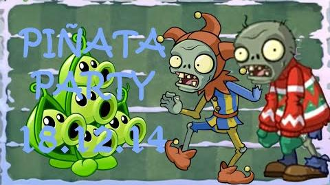 Android Plants vs. Zombies 2 - Piñata Party Feastivus 2014 (18.12.2014)