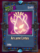 Arcane lotus sticker