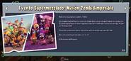 Evento Supermezclado Mision Zombidisponible