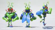 Oscar-loris-superbrainz-bugbrainz-green