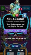Nurse Gargantuar stats