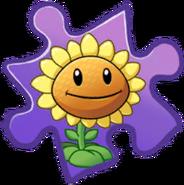 Sunflower Puzzle Piece