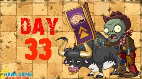Plants vs Zombies 2 - Wild West - Day 33