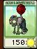 Zombi con globopaquete