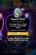 Zombot's Wrath conjured by Cosmic Scientist