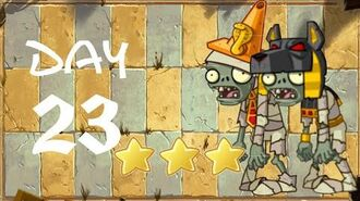 Android Plants vs. Zombies All Stars - Ancient Egypt Day 23