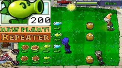 Plants vs. Zombies Adventure Got a New Plant Repeater level 1-8 Day (Android Gameplay HD) Ep