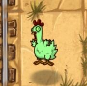 Fainted Zombie Chicken