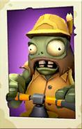 Jackhammer Zombie PvZ3 portrait