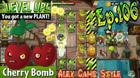 Plants vs. Zombies 2 Got a new Plant Cherry Bomb - Pirate Seas Day 24 (Ep.106)