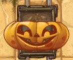 Pumpkin minecart