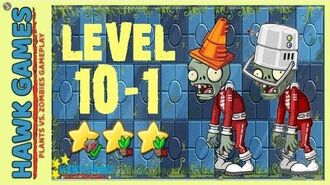 V1.0.81 Plants vs. Zombies All Stars - Far Future Level 10-1