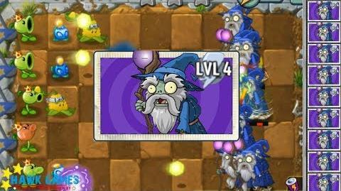 I, Zombie Minigame Plants vs Zombies - Wizard Zombie vs Plants 8