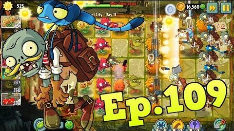 Plants vs. Zombies 2 New Bug Zombie - Lost City Day 11 (Ep