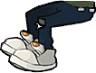 Zombie zambonidriver legs