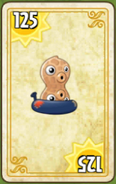 Peanut endless card (costumed)