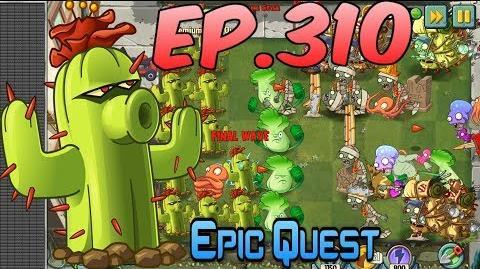 Plants vs. Zombies 2 CACTUS - Epic Quest Premium Seeds (Ep