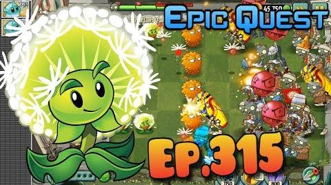 Plants vs. Zombies 2 DANDELION - Epic Quest Premium Seeds (Ep