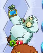 Zombie Yeti effect