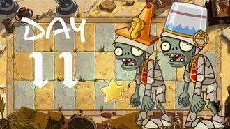 Android Beta 2 PvZ All Stars - Ancient Egypt Day 11