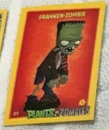 Franken zombie card