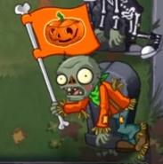 Lawn of Doom Flag Zombie