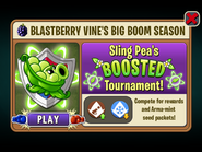 Blastberry Vine Big Boom Season - Sling Pea Boosted Tournament