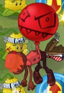 Buttered Balloon Zombie 1