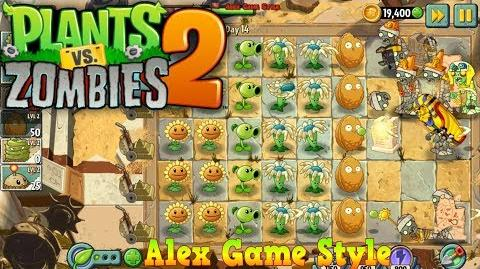 Plants vs. Zombies 2 Ancient Egypt Day 14 (Ep