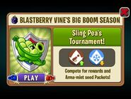 Sling Pea's Tournament Blastberry Vine's Season