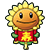 Sunflower costume 3